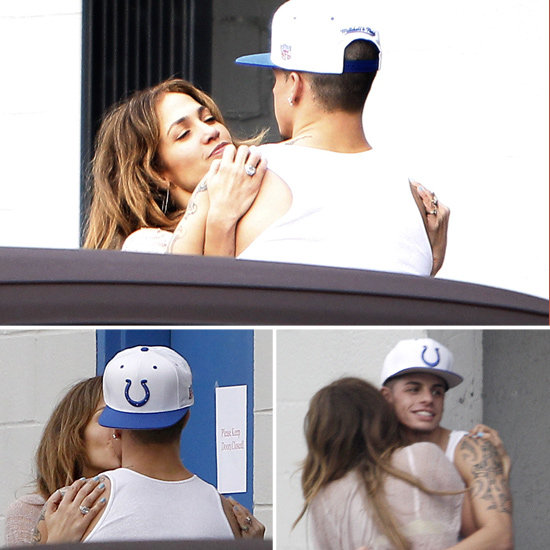 See Jennifer Lopez and Casper Smart's Passionate Post-Rehearsal Embrace