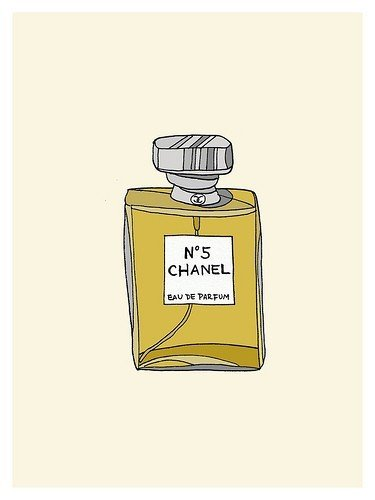 This This adorable print is just the thing for your Chanel-loving friends. Chanel No. 5 Mini Poster ($45)