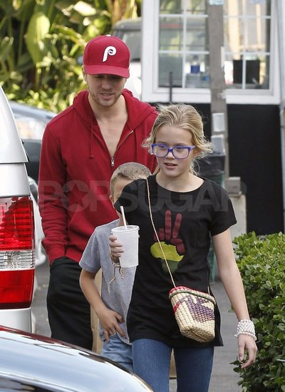 Ryan Phillippe Lunches With Ava and Deacon While Making a Real Estate Move