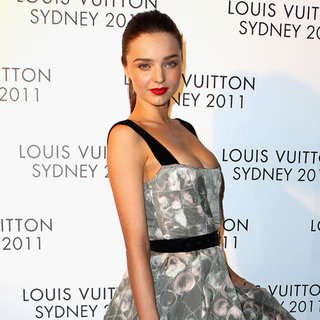 Miranda Kerr, Lara Bingle, Delta Goodrem, Megan Gale Pictures at Louis Vuitton Maison Sydney Opening Party