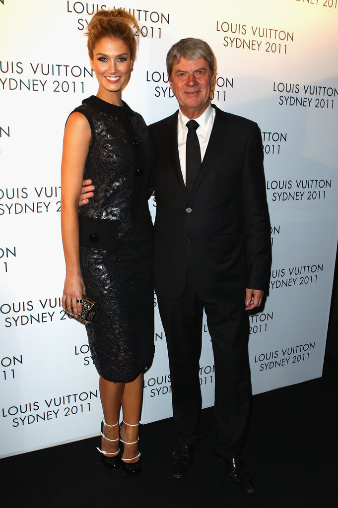 Delta Goodrem and Yves Carcelle