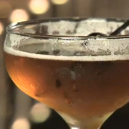 Bourbon Maple Manhattan Recipe