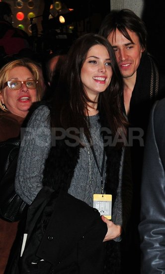 Ashley Greene and Reeve Carney went to the Christmas tree-lighting ceremony in NYC.