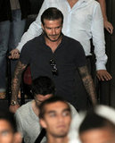 David Beckham arrived in Manila, Philippines, on Dec. 1.