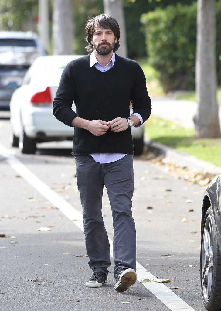 Ben Affleck in a sweater.