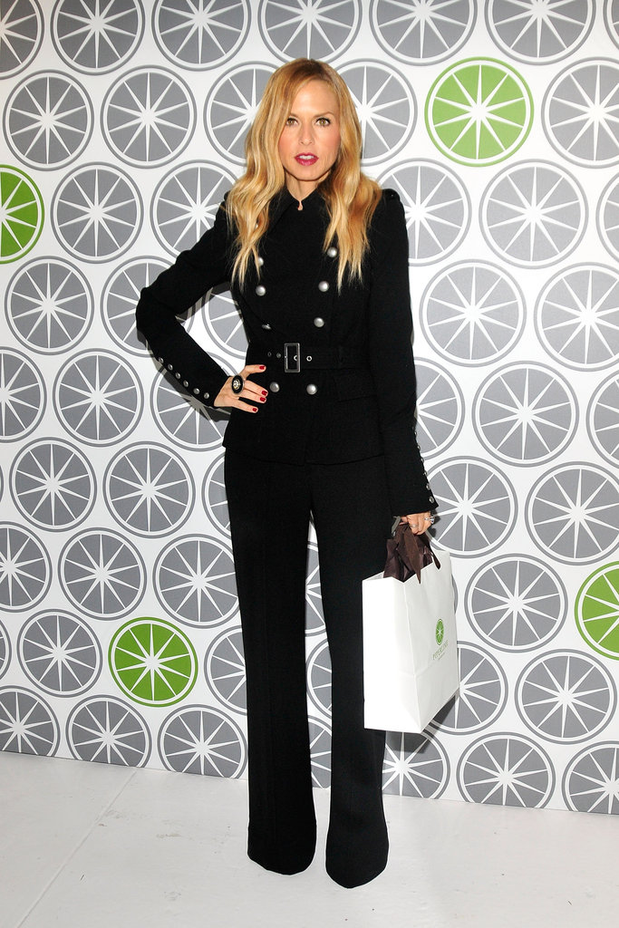 Rachel Zoe shopped at an event in NYC.