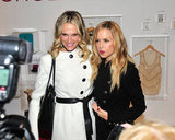 Rachel Zoe and Molly Sims hung out in NYC's Piperlime Piping Hot Lounge.