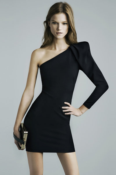 Asymmetric Studio Dress ($160)