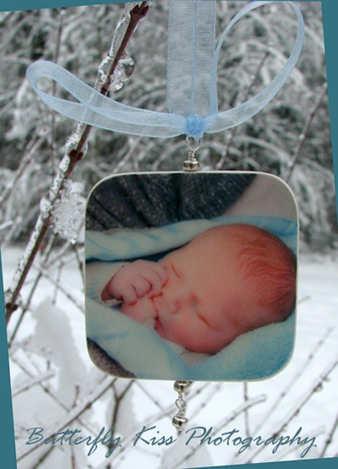 Holiday Keepsake Photo Ornament ($79)