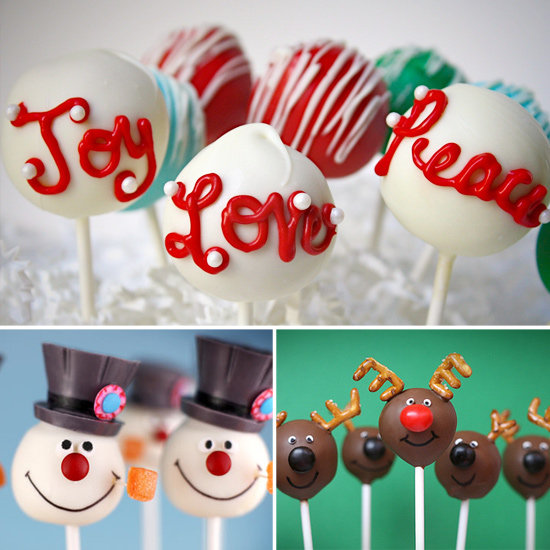 Cake Pop Christmas Decorating Ideas : Christmas tree cake pops Olivia Pinterest Tree Cakes ...