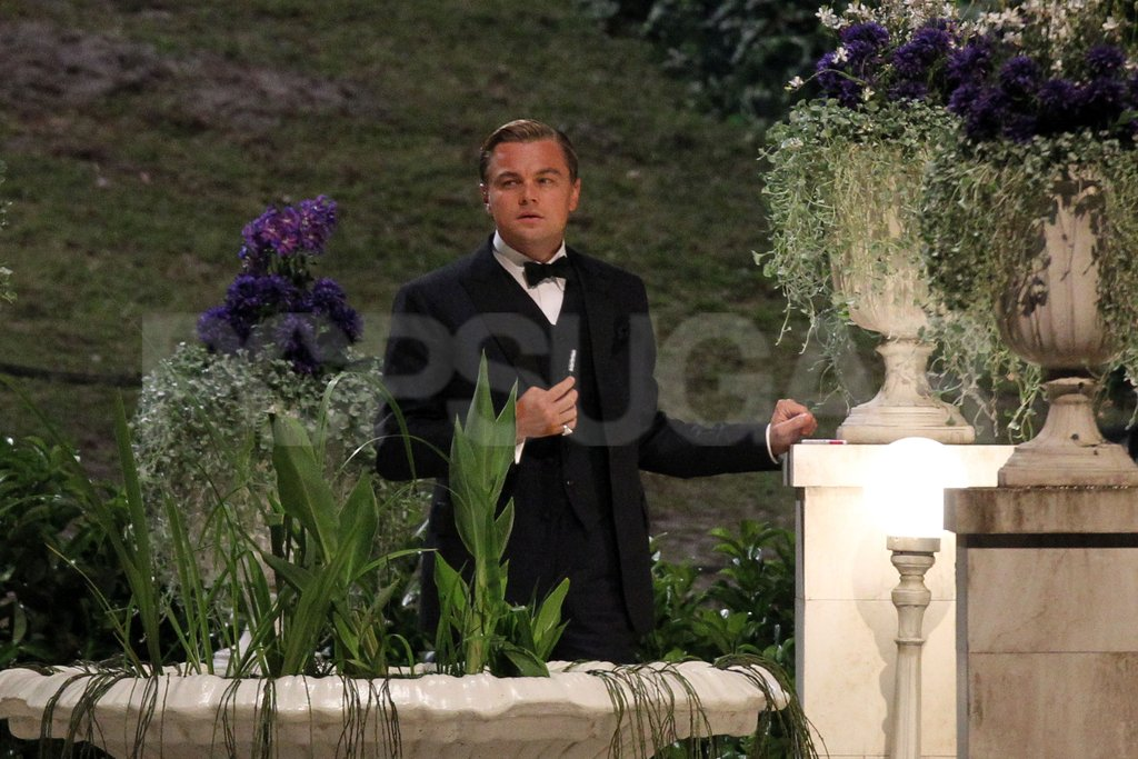 Leonardo DiCaprio had a solo moment in The Great Gatsby.