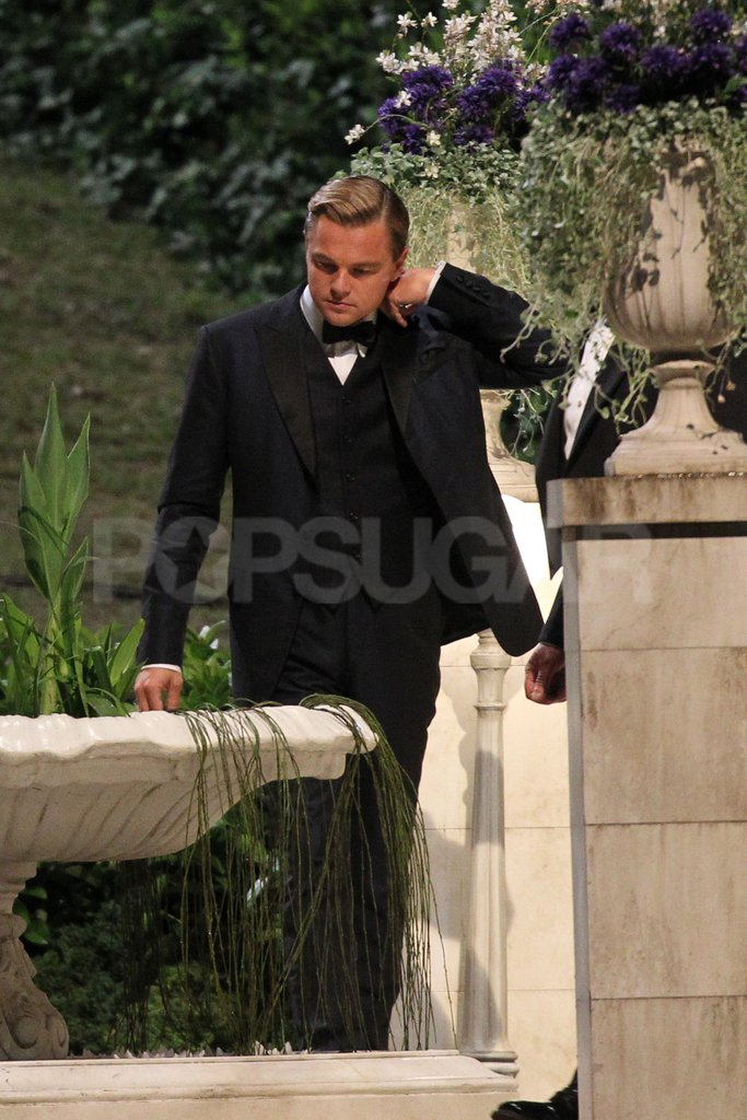 Leonardo was in a full tux for The Great Gatsby.