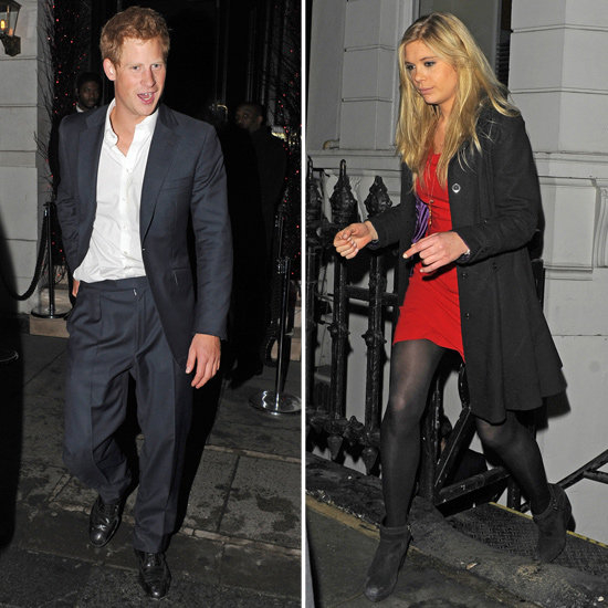 Prince Harry and Chelsy Davy Reunite to Celebrate His Return to the UK!