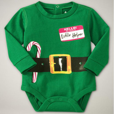 Baby's First Christmas Onesies