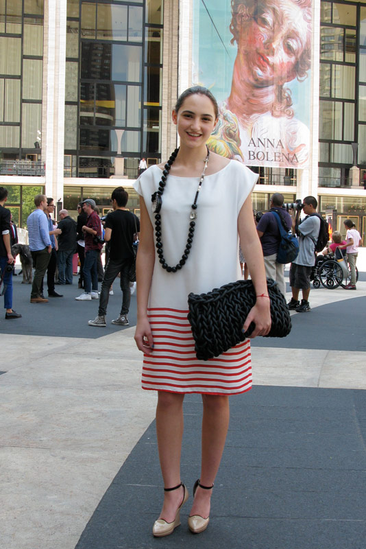 Racheli - Lincoln Center, NYC (via fashioni.st)