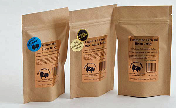 Gunsmoke Grass-Fed Bison Jerky