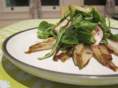 Endive Salad With Pear, Walnuts, and Arugula Recipe