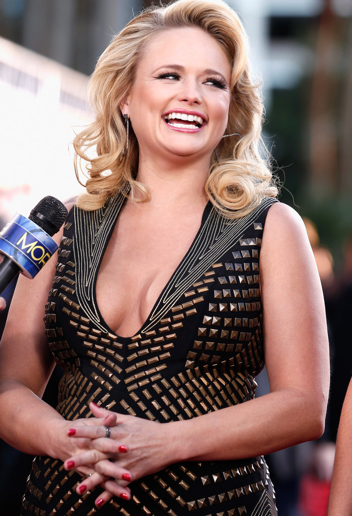Miranda Lambert at the American Country Awards.