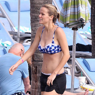 Brooklyn Decker Bikini Pictures With Shirtless Andy Roddick