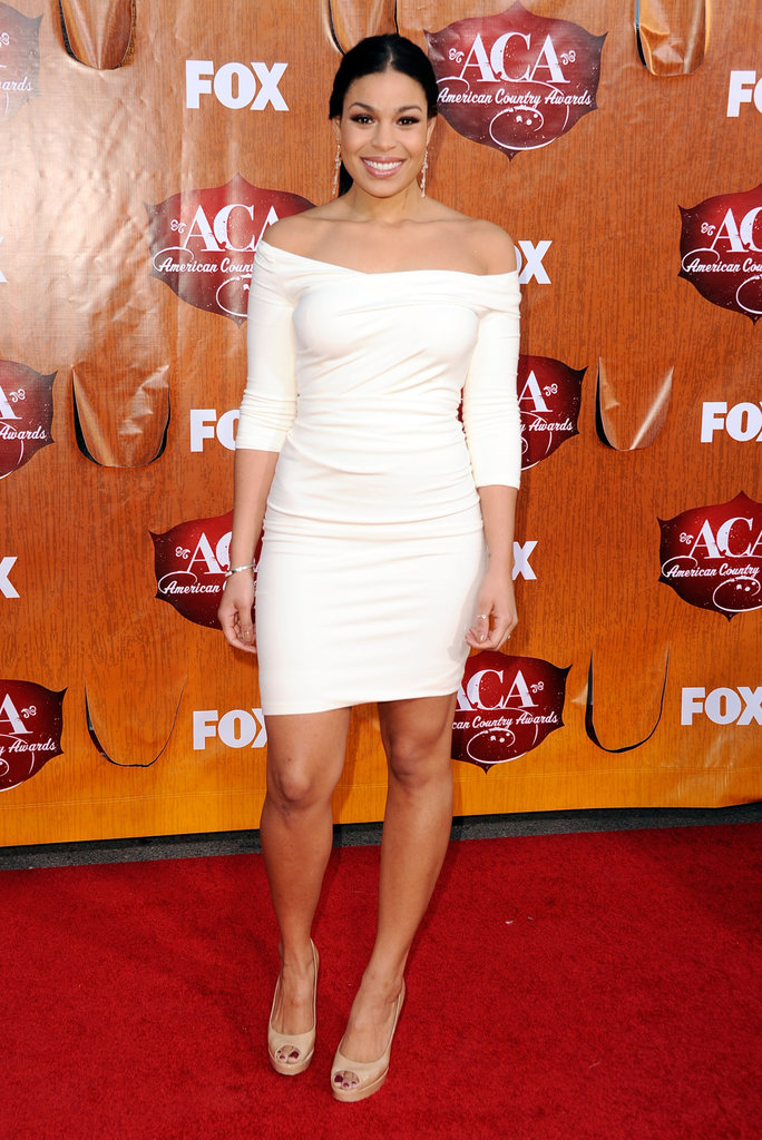 Jordin Sparks at the American Country Awards.