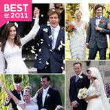 The Most Gorgeous Celebrity Weddings of the Year!