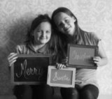 Christmas Photo Props Chalkboard Signs ($29)