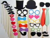 Ultimate Collection of Photo Booth Props ($50)