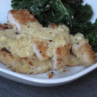 Breaded Pork Cutlets With Mustard Sauce Recipe
