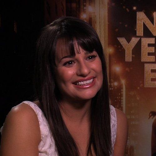 Lea Michele Interview New Year's Eve (Video)