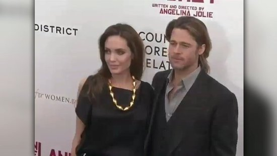 "Video: Angelina Jolie Gushes Over a ""Very Helpful"" Brad Pitt at Her NYC Premiere"