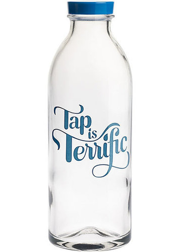 """Tap Is Terrific"" Water Bottle"