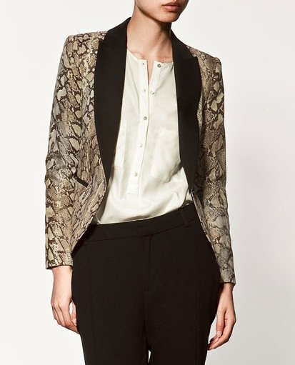 Blazer With a Twist