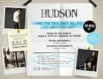 Hudson Sample Sale
