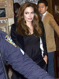 Angelina Jolie was out in NYC.