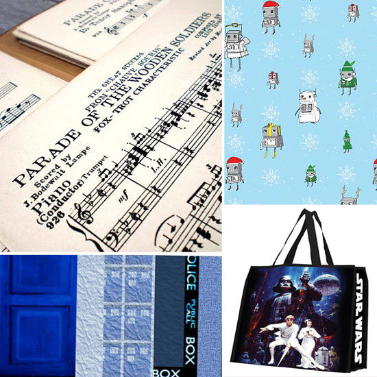Geeky Wrapping Paper For 2011