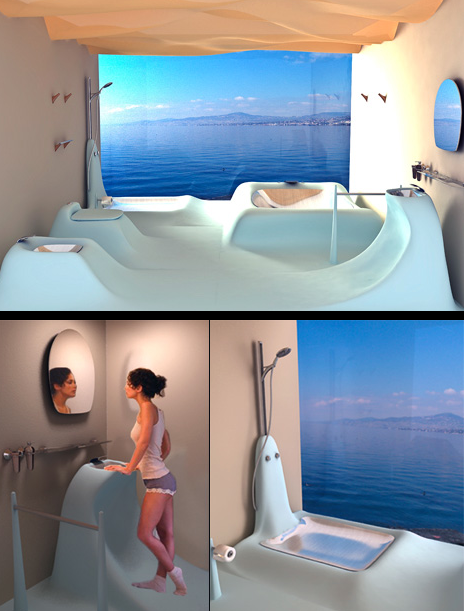 Outstanding Cool Bathrooms 464 x 611 · 359 kB · png