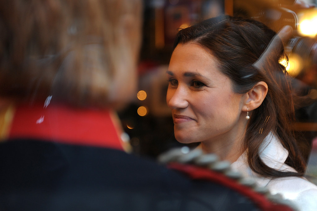 Pippa looks at Harry.