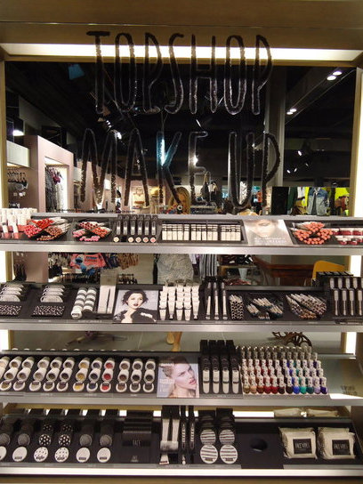Pictures of Topshop Australia&#039;s Beauty Range in Melbourne Australia