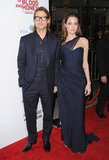 Angelina and Brad stuck together.