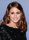 Olivia Palermo sparkled in a black dress.