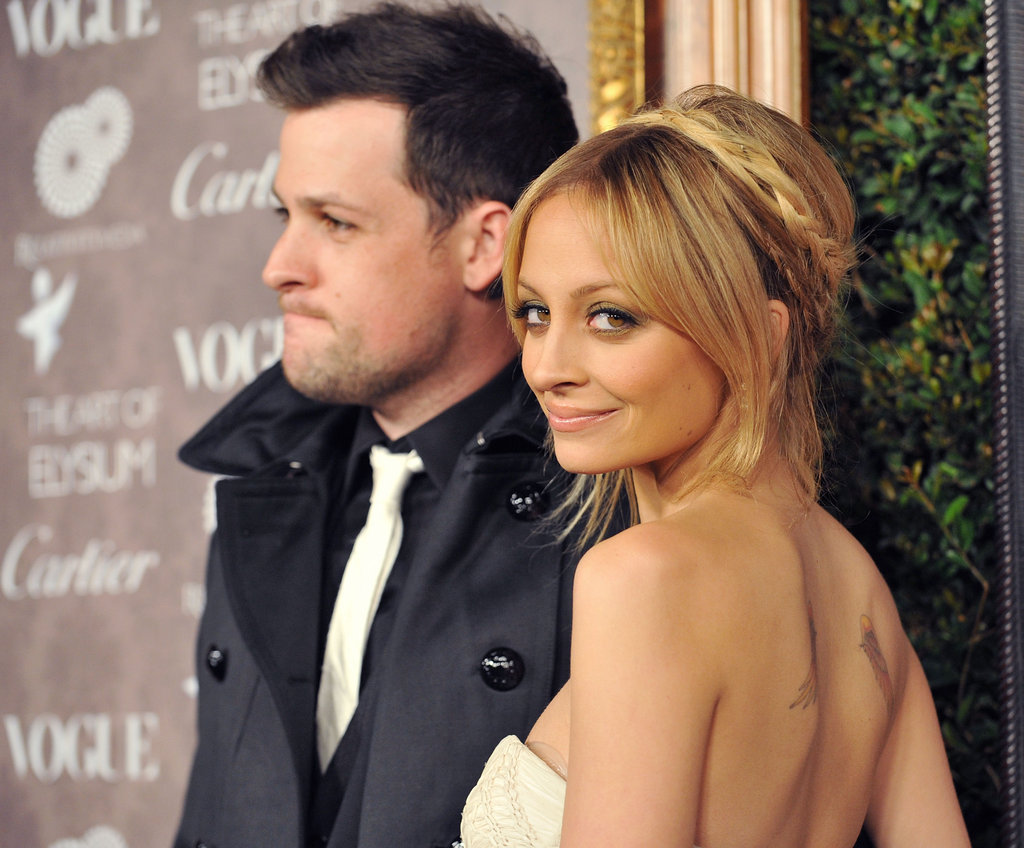 Nicole Richie and Joel Madden attended a January 2009 charity event in LA.