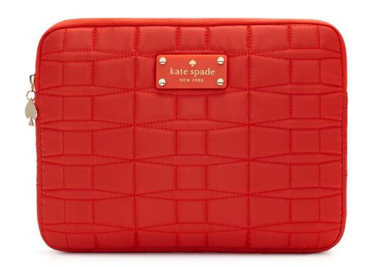 Kate Spade quilted iPad sleeve ($70)