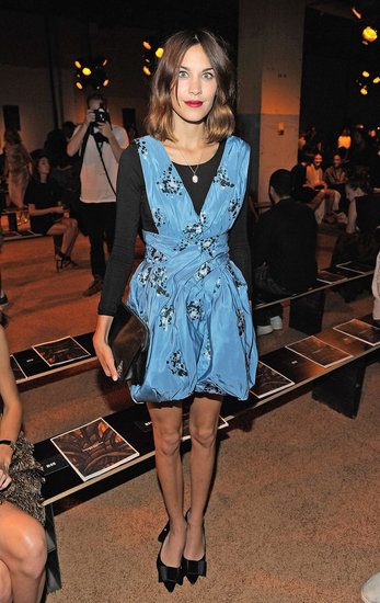 In Love With . . . Alexa Chung&#039;s Sweet Bow-Adorned Pumps