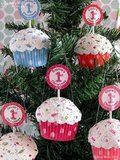 Mini Cupcake Ornament ($13.95)
