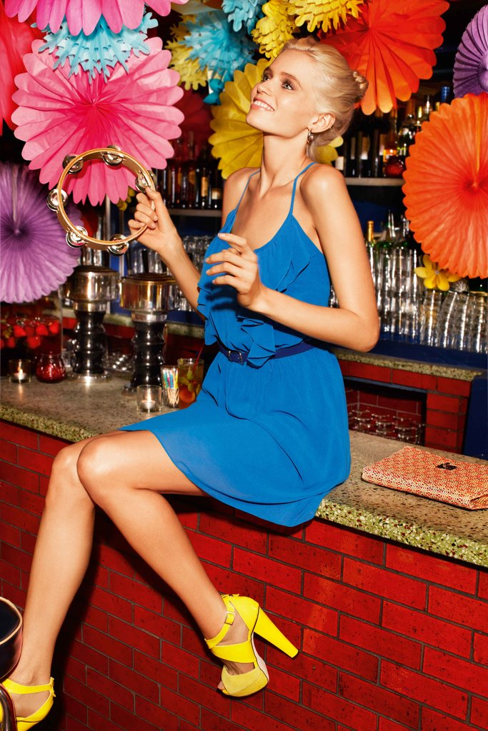 Abbey Lee Kershaw Perfects the Party Look for Portmans!