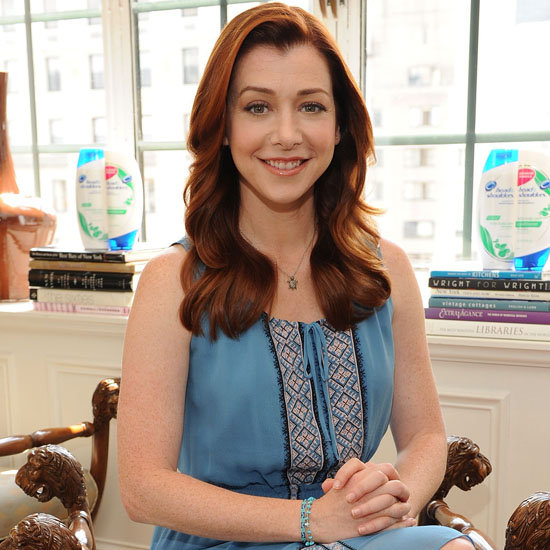 "Alyson Hannigan: ""High School Was My Worst Beauty Blunder"""