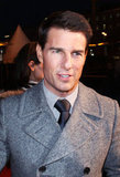 Tom Cruise was all smiles at the Moscow premiere of Mission: Impossible – Ghost Protocol.