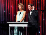 Brooklyn Decker and Dennis Quaid spoke at the UNICEF Ball.
