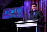 Sean Penn took the podium at LA's UNICEF Ball.