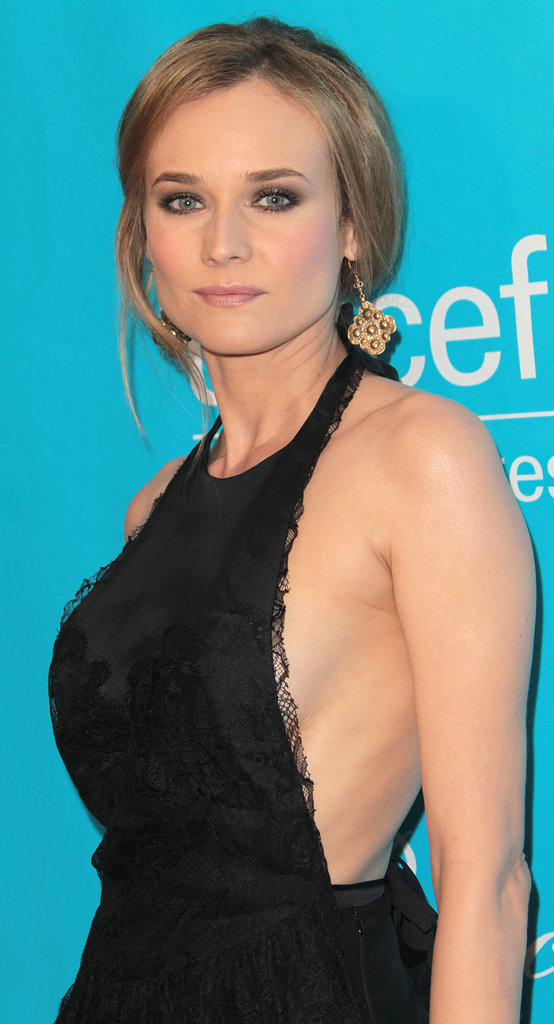 Diane Kruger wore a seriously sexy halter.